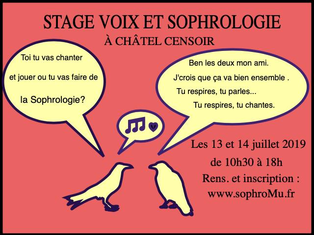 Voix et sophrologie